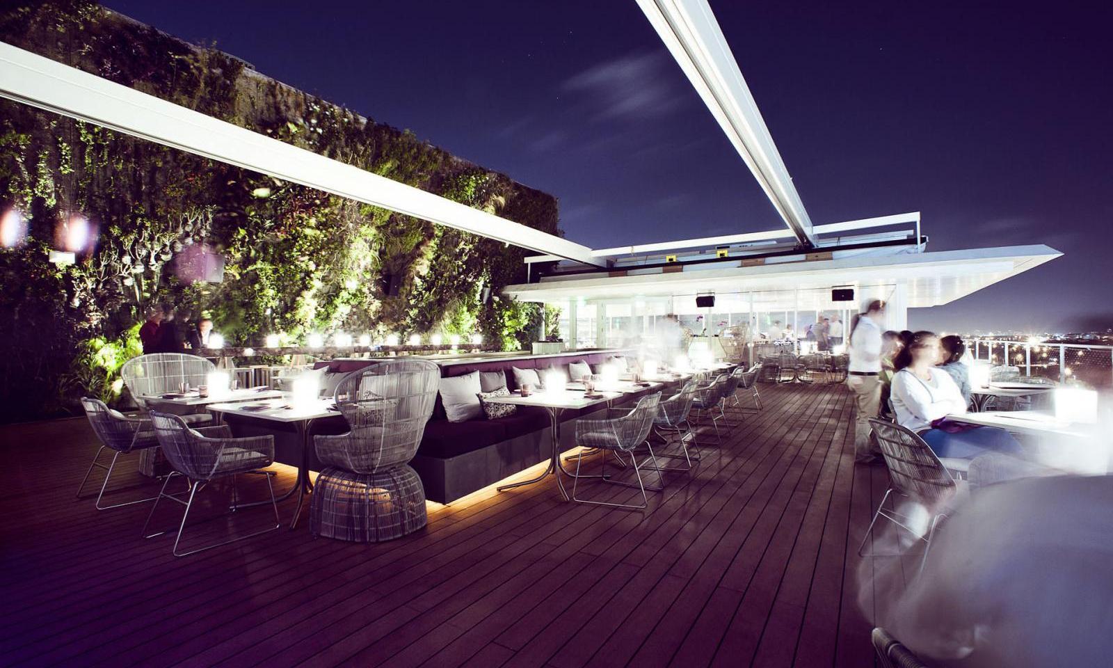 Rooftopbar Miami Juvia 06