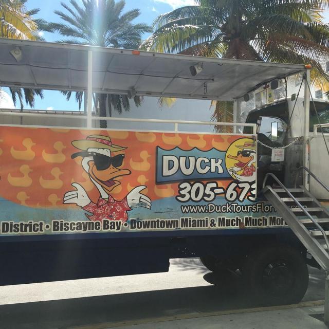 Miami Duck Tour