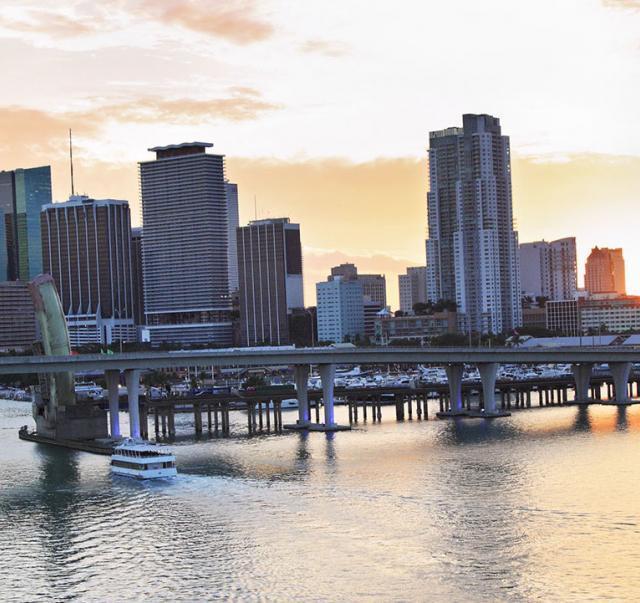 Tolle Ausblicke: Die Brücken in Miami
