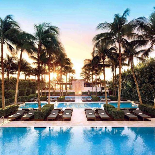 The Setai Hotel in Miami Beach