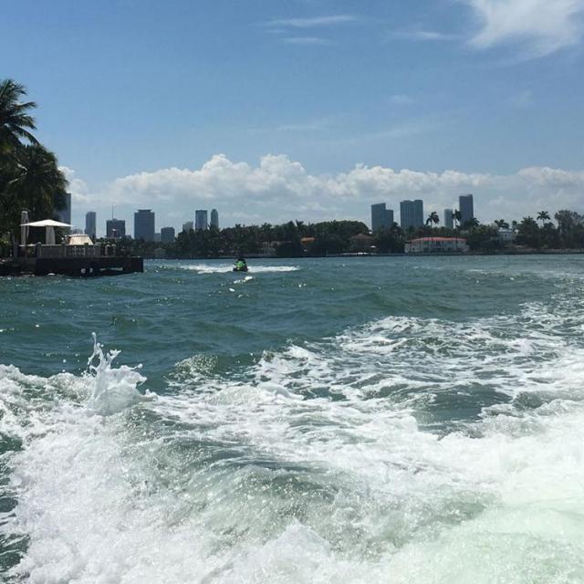 Miami Speedboat Tour