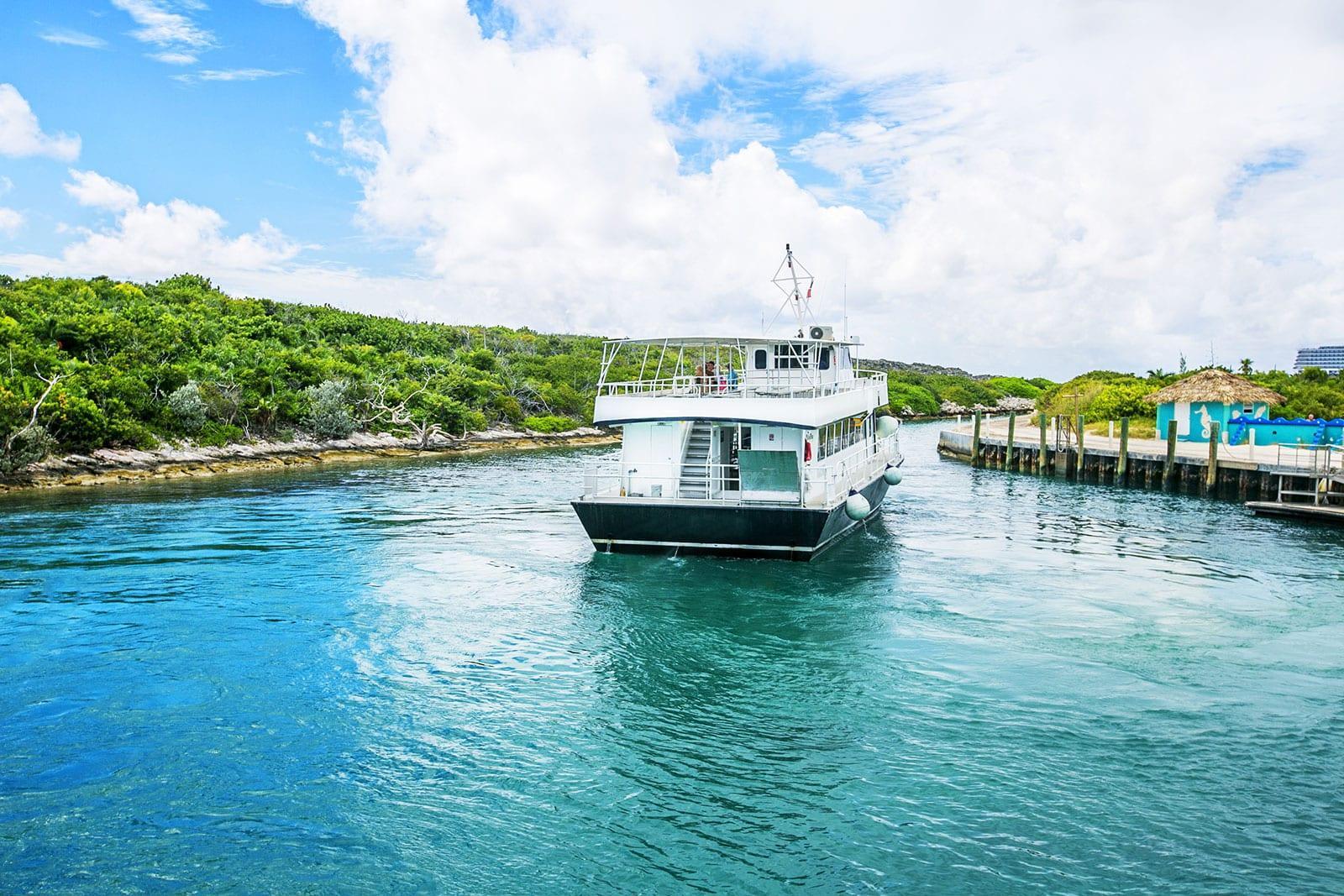 Tagesausflug auf die Bahamas