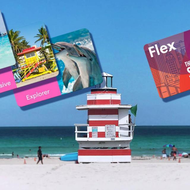 Vergleich von Go Miami Card, Go Miami Explorer Pass und Miami Sightseeing Pass